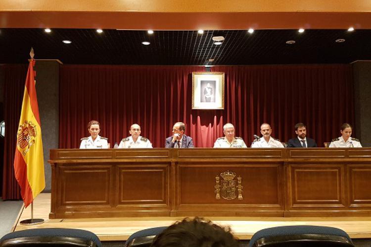 Conferencia magistral de Isdefe en la Jornada Psicología Militar Operativa