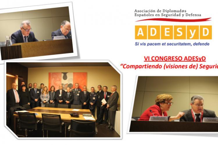 Isdefe acoge el Congreso de ADESyD en su sexta edición.