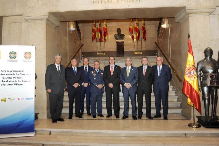 Isdefe colabora en la creación de la Academia de las Ciencias y las Artes Militares