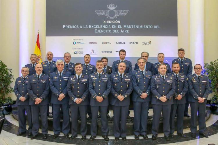 Isdefe premiada en la XI Edición de los Premios a la Excelencia en el Sostenimiento del Ejército del Aire
