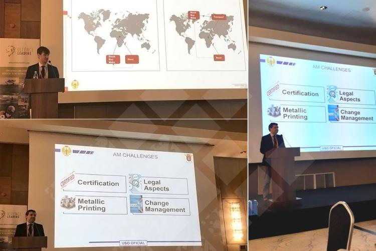 Isdefe expone en el Combat Logistics 2020 una metodología para la evaluación de la eficiencia de tecnologías de fabricación aditiva.