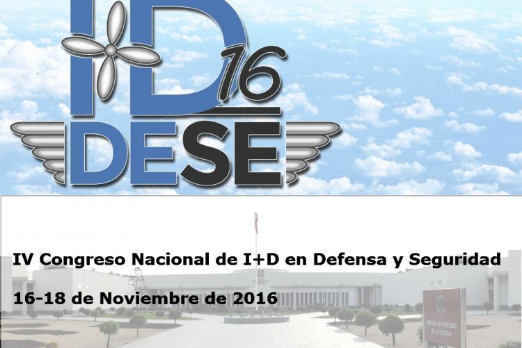 IV CONGRESO NACIONAL DE I+D EN DEFENSA Y SEGURIDAD