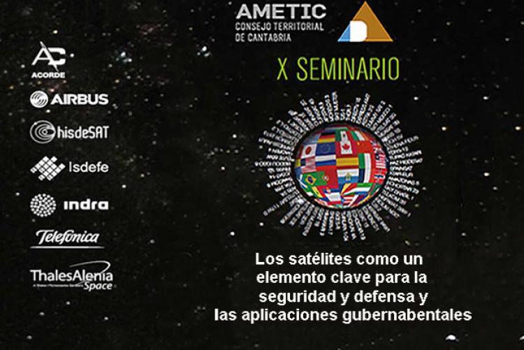 Los expertos en satélites militares y aplicaciones gubernamentales se reúnen en el X Seminario de Satélites en Santander