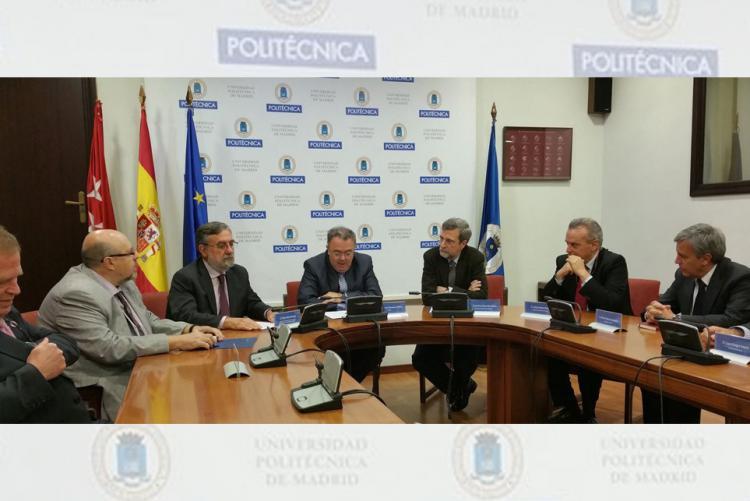 La UPM e Isdefe renuevan su Cátedra en Defensa y Seguridad