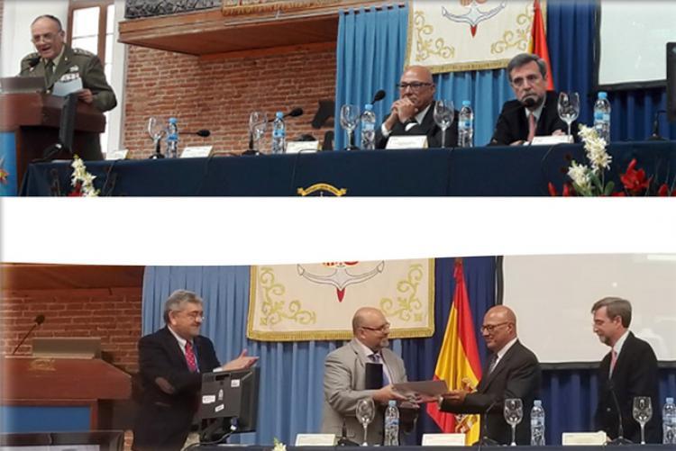 El Secretario de Estado de Defensa clausura el VI Congreso DESEi+d 2018