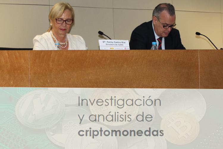 IUISI ha celebrado en Isdefe el taller Investigación y análisis de criptomonedas