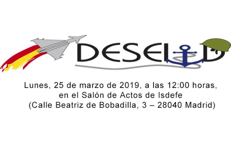 Presentación del CONGRESO DESEI+D 2019 y del libro Premios Isdefe  I+D+I