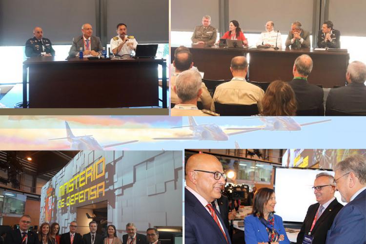 Gran éxito de la I Feria Internacional de Defensa y Seguridad (FEINDEF)