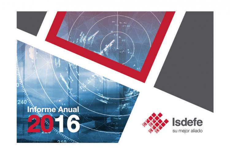 Isdefe Publica su Informe Global Anual de 2016