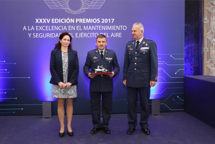 Isdefe Colabora con los Premios a la Excelencia en el Sostenimiento y Seguridad del Ejército del Aire