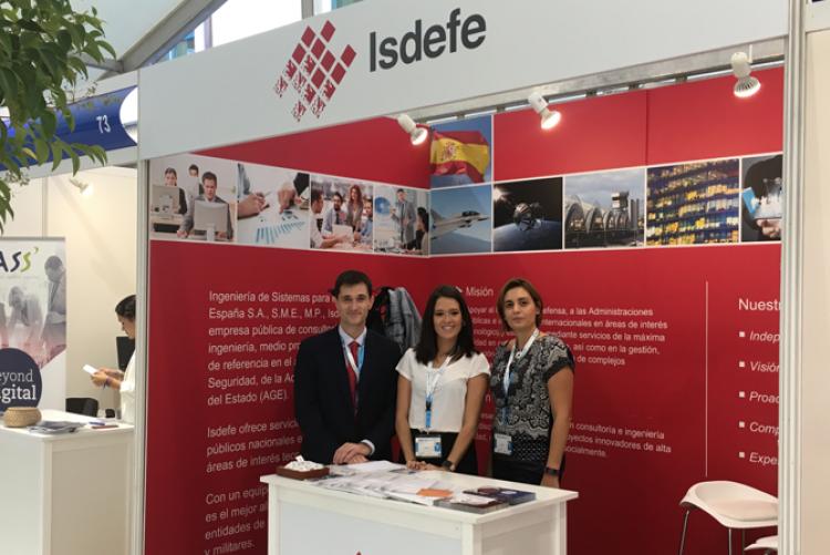 Isdefe está presente en la XXII edición de Forempleo