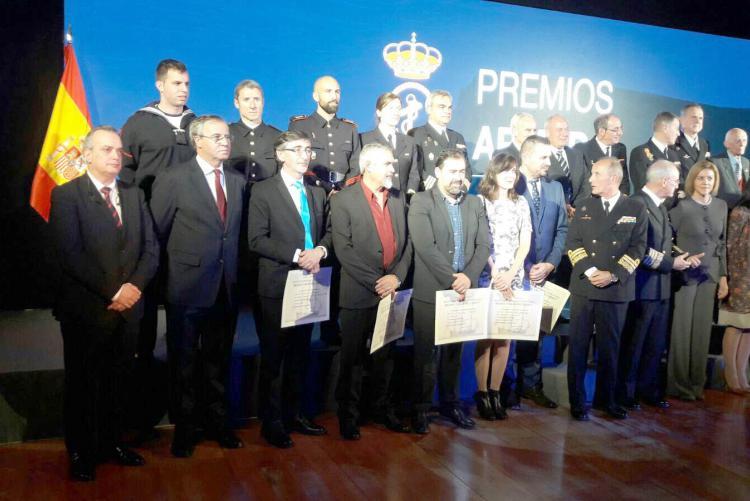 Isdefe colabora con los Premios Armada 2017