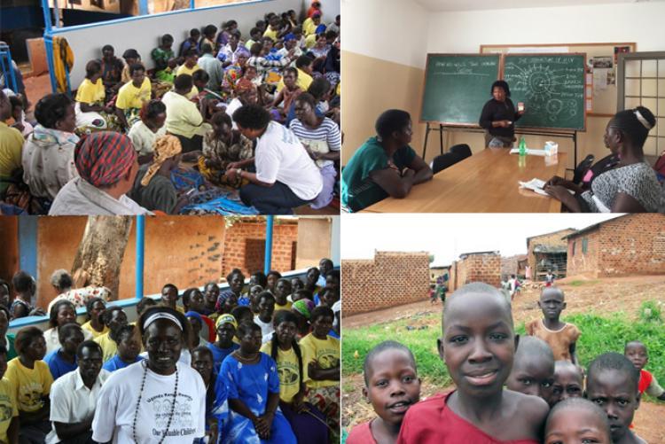 """Solidaridad en zona de operaciones: """"Vencer al Sida en Uganda"""""""