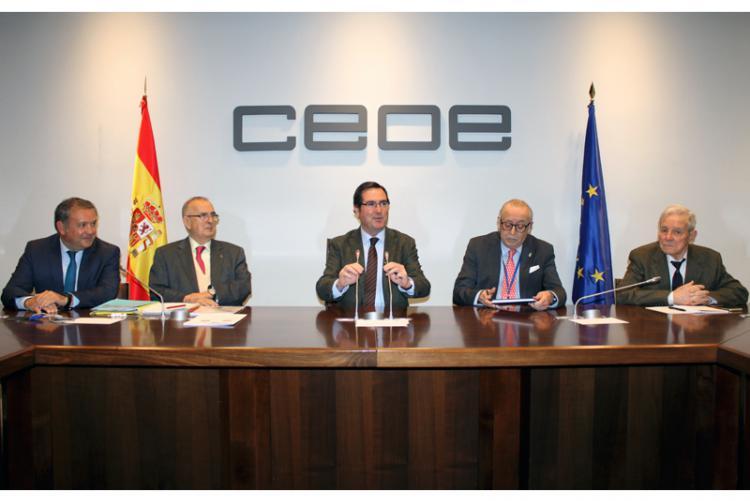 Reunión del Consejo de Presidentes de EURODEFENSE en Madrid