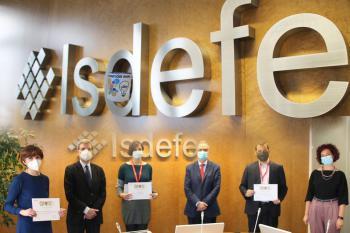 Presentation of Tele-iNNOVACIÓN awards