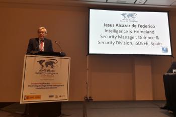 Isdefe participa en el Congreso Mundial de Seguridad Fronteriza