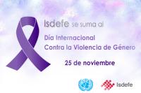 Isdefe se suma al Día Internacional Contra la violencia de Género