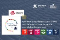 Isdefe se suma a la campaña #aliadosdelosODS promovida por la Red Española del Pacto Mundial.