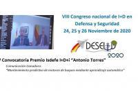 V Convocatoria Premio Isdefe I+D+i Antonio Torres DESEi+D 2020