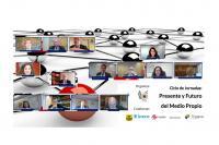"""El ciclo de jornadas """"Presente y Futuro del Medio Propio"""" ha tenido 400 usuarios registrados y ha recibido más de 1000 visitas en sus tres días de duración."""