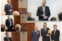 Acto de presentación del nuevo director de la Estación Espacial de Robledo de Chavela