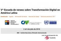 Participación de  Isdefe en una nueva edición de la Escuela de verano sobre Transformación Digital en América Latina