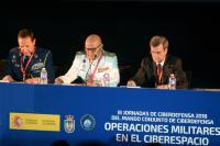 """Isdefe patrocina las III Jornadas de Ciberdefensa del Mando Conjunto de Ciberdefensa:""""Operaciones Militares en el Ciberespacio"""""""